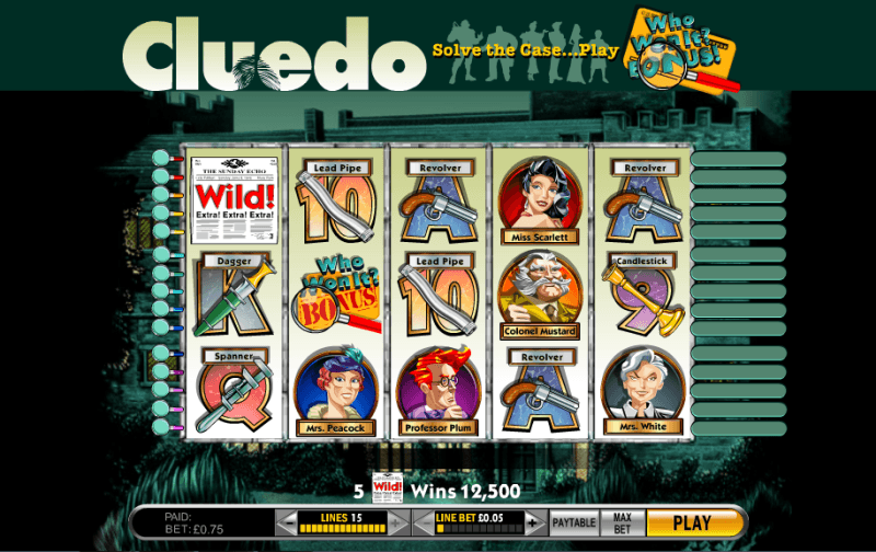 Play clue slot machine online casino hotels in cyprus