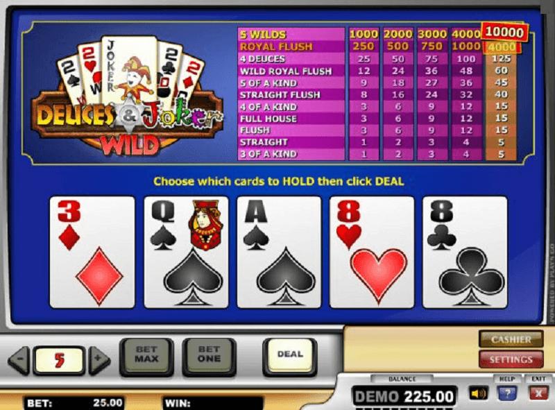 deuces and joker poker casino