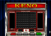 'Keno' by 'Realtime Gaming'. Click the image to enlarge.