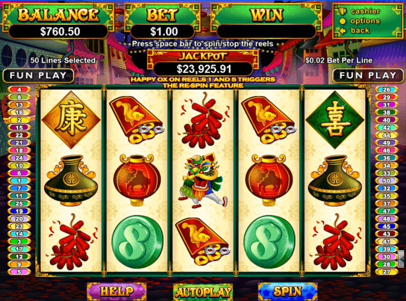 Happy Golden Ox of Happiness™ Slot Machine Game to Play Free in Realtime Gamings Online Casinos