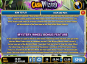 'Cash Wizard' by 'Bally Interactive'. Click the image to enlarge.