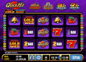 'Quick Hit Black Gold' by 'Bally Interactive'. Click the image to enlarge.