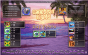 'Caribbean Nights' by 'OpenBet'. Click the image to enlarge.