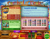 'Carnival of Venice' by 'Octopus Gaming (Topgame)'. Click the image to enlarge.