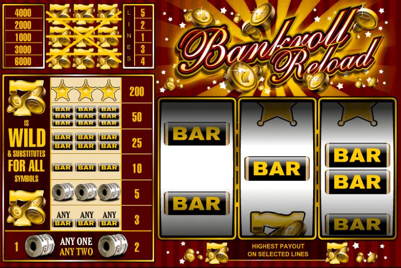 free casino bankroll