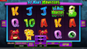 'So Many Monsters' by 'Microgaming'. Click the image to enlarge.
