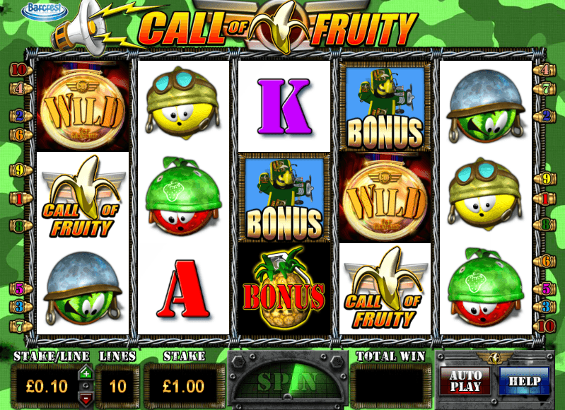 Call of Fruity Slot Machine - Review & Free Online Demo Game