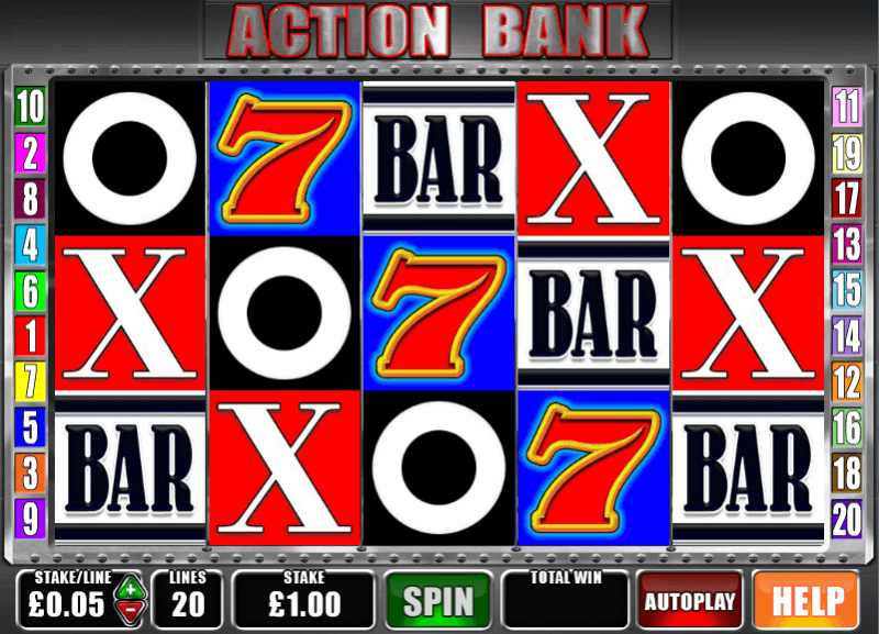 Action Bank™ Slot Machine Game to Play Free in Barcrests Online Casinos
