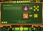 'Go Bananas!' by 'Net Entertainment'. Click the image to enlarge.
