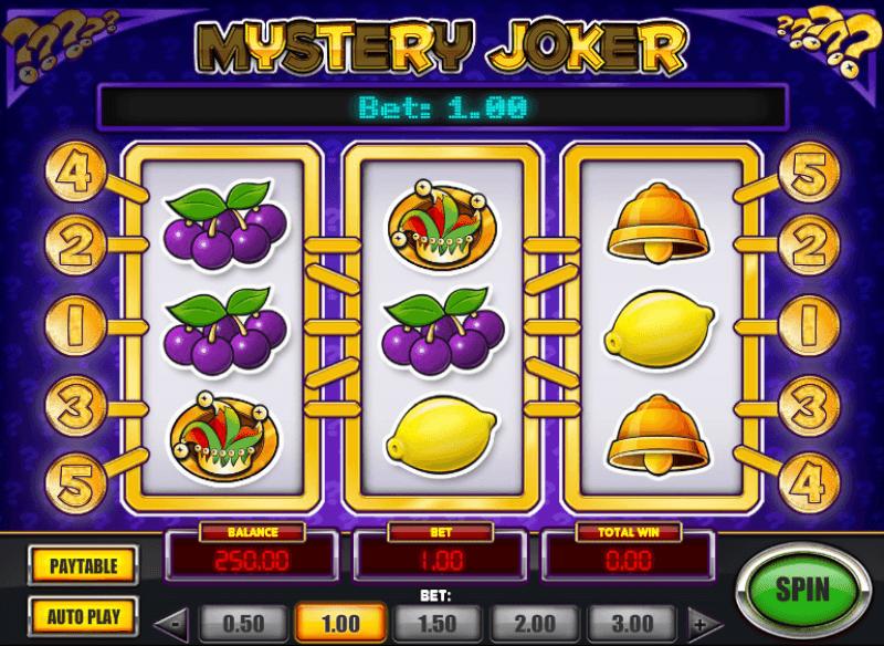 Play popular Mystery Joker slot at Casumo casino