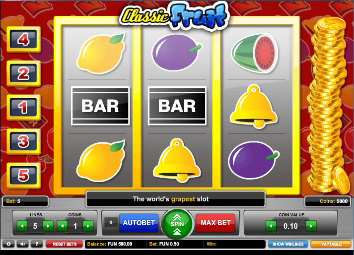 Classic Fruit™ Slot Machine Game to Play Free in 1x2 Gamings Online Casinos