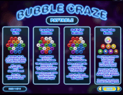 'Bubble Craze' by 'IGT'. Click the image to enlarge.
