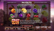 'Fruit Zen' by 'BetSoft'. Click the image to enlarge.