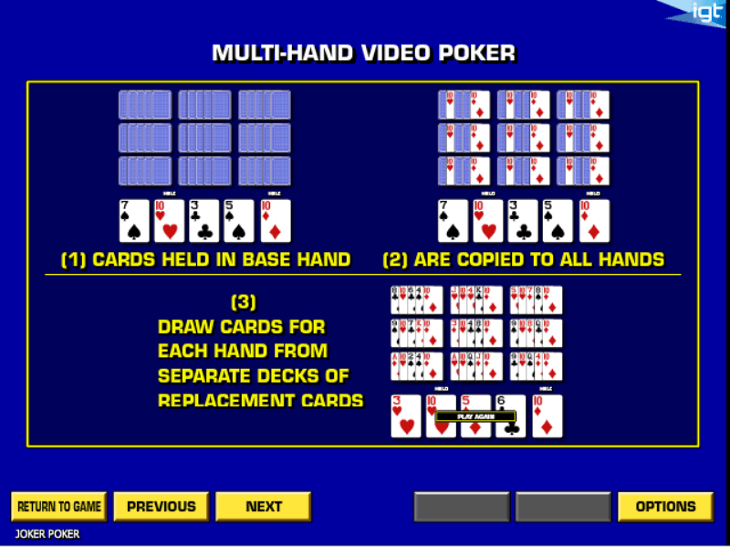 Joker Poker Rules