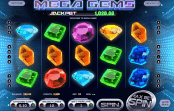 'Mega Gems' by 'BetSoft'. Click the image to enlarge.