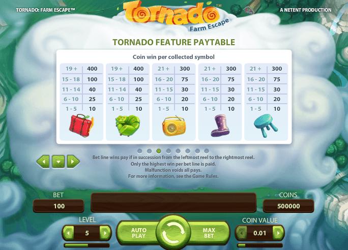 Play Tornado: Farm Escape Online Slots at Casino.com South Africa
