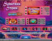 'Sumatran Storm' by 'IGT'. Click the image to enlarge.