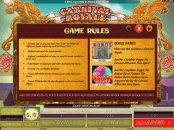 'Carnival Royale' by 'Genesis Gaming'. Click the image to enlarge.