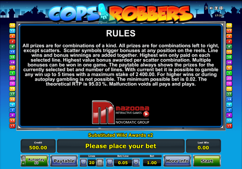 australian online casino paypal cops and robbers slot