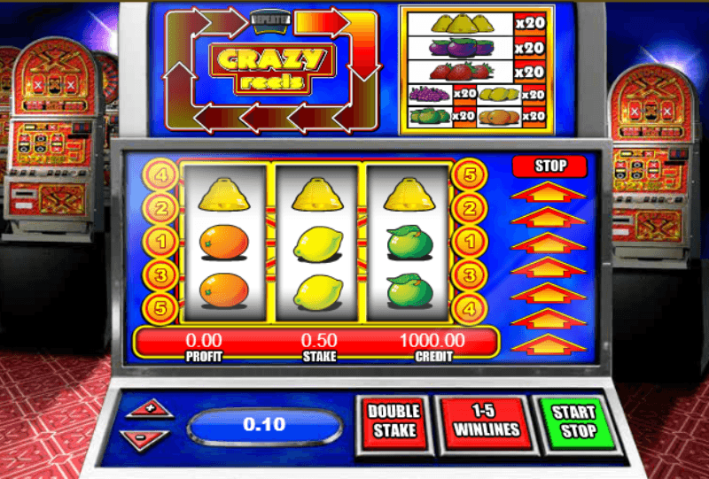 Crazy Reels Fruit Machine by Mazooma - Play for Free Online