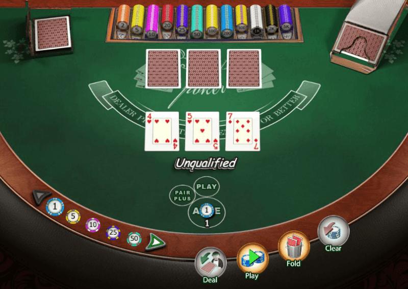 jupiters casino 3 card poker