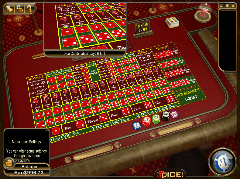 casino online list sic bo