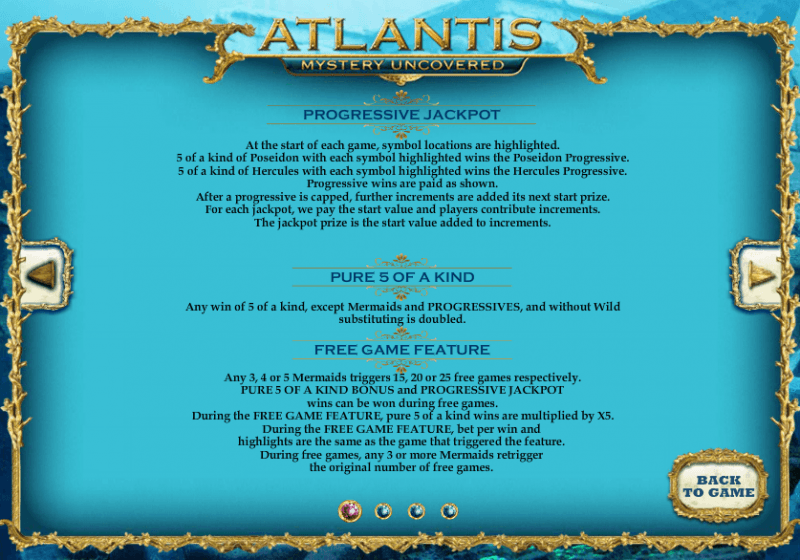 Atlantis Slot Machine - Win Big Playing Online Casino Games