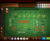 'Craps' by 'Gamesys Limited'. Click the image to enlarge.