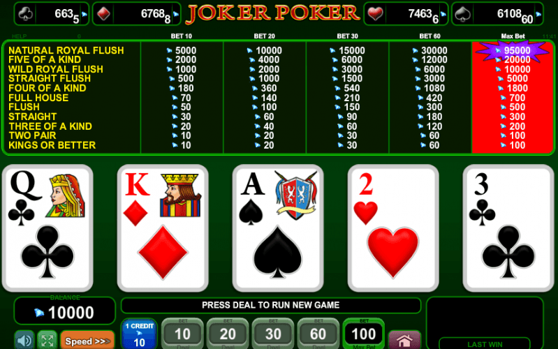 deutsche online casino joker poker