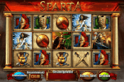'Fortunes of Sparta' by 'Blueprint Gaming'. Click the image to enlarge.