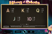 'King of Slots' by 'Net Entertainment'. Click the image to enlarge.