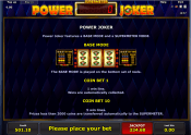 'Power Joker' by 'Novomatic'. Click the image to enlarge.