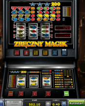 'Zreczny Magic' by 'Novomatic'. Click the image to enlarge.
