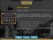 'Gunsmoke' by 'Microgaming'. Click the image to enlarge.