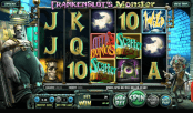 'Frankenslot's Monster' by 'BetSoft'. Click the image to enlarge.