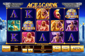 'Age of the Gods' by 'Playtech'. Click the image to enlarge.