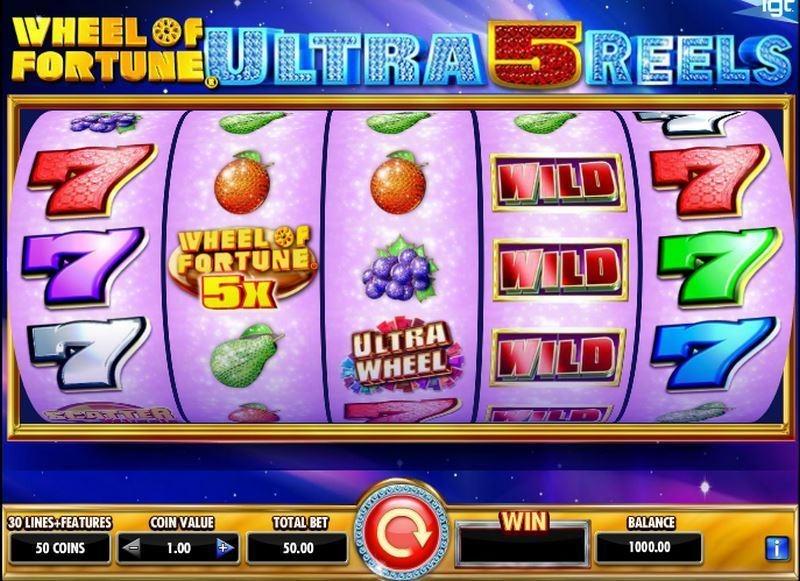 Wheel of Fortune: Ultra 5 Reels Slot Machine Online ᐈ IGT™ Casino Slots