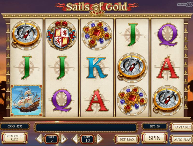 Sails of Gold Slot Machine Online ᐈ Playn Go™ Casino Slots