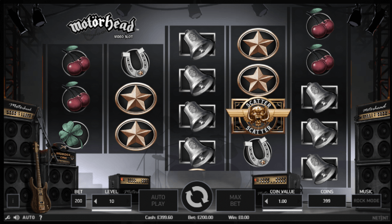 Motorhead Slot Machine By Netent: Game Review - Keytocasino