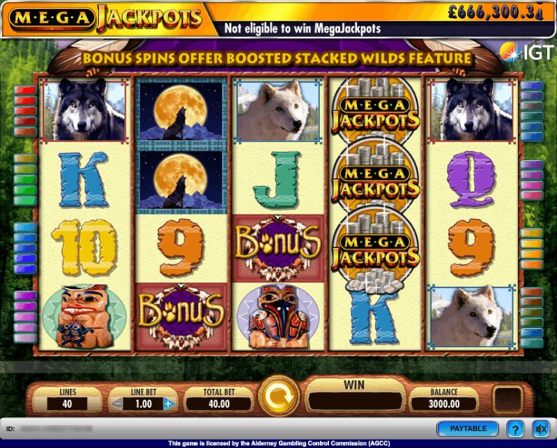 Coyote Moon Slot Machine Game Online Free Play Casino
