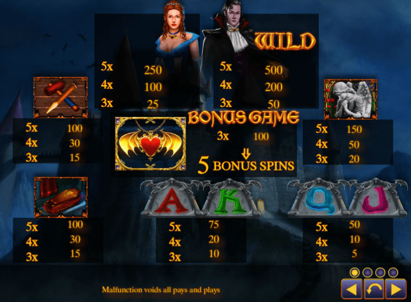 Spiele Crypt Of The Vampires - Video Slots Online