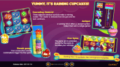 'Cupcake Rainbow ' by 'Gaming1'. Click the image to enlarge.
