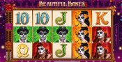 'Beautiful Bones' by 'Microgaming'. Click the image to enlarge.