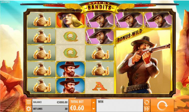 Sticky Bandits Slot Machine Online ᐈ Quickspin™ Casino Slots