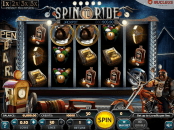 'Spin to Ride' by 'Nucleus Gaming'. Click the image to enlarge.