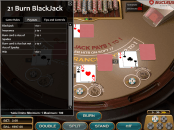 '21 Burn Blackjack' by 'Nucleus Gaming'. Click the image to enlarge.