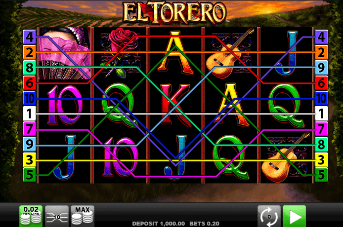 el torero casino game online