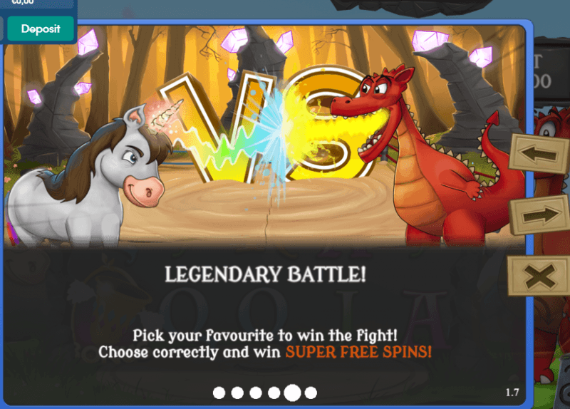 Dragon vs Unicorn Slot - Play Red7 Slots Online for Free