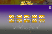 'The Justice Machine' by '1x2 Gaming'. Click the image to enlarge.
