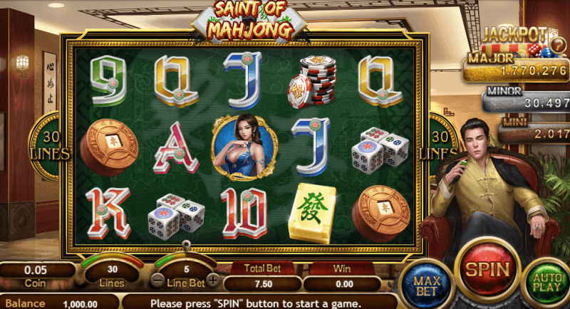 Saint of Mahjong Slot by SA Gaming: Game Review with Links to Play -  KeyToCasino
